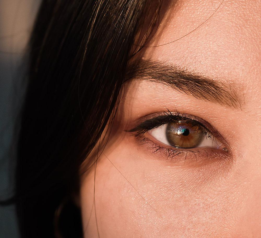 färga ögonbryn gävle